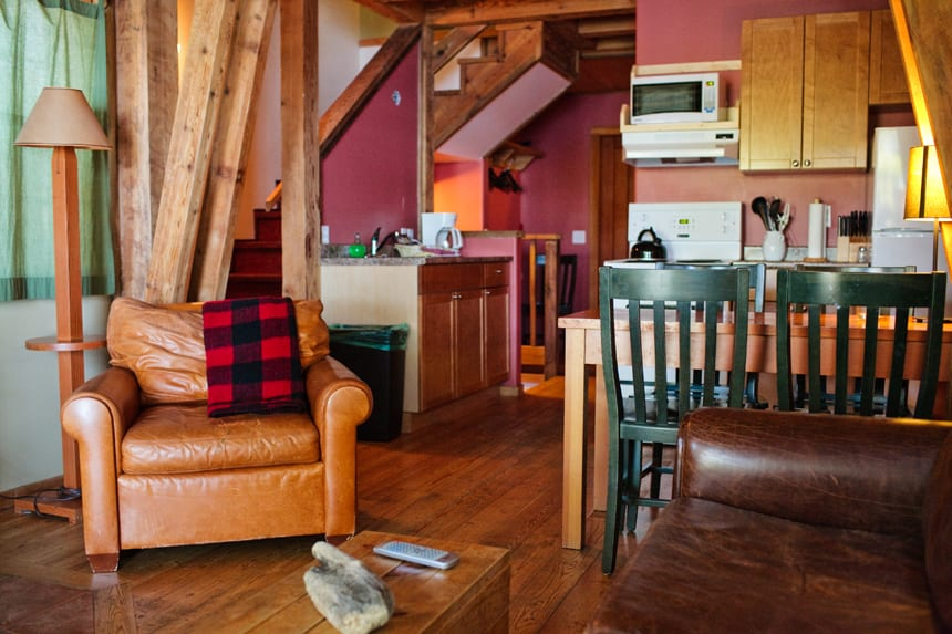 Inside Starboard Side - Rainforest Ucluelet Accommodation