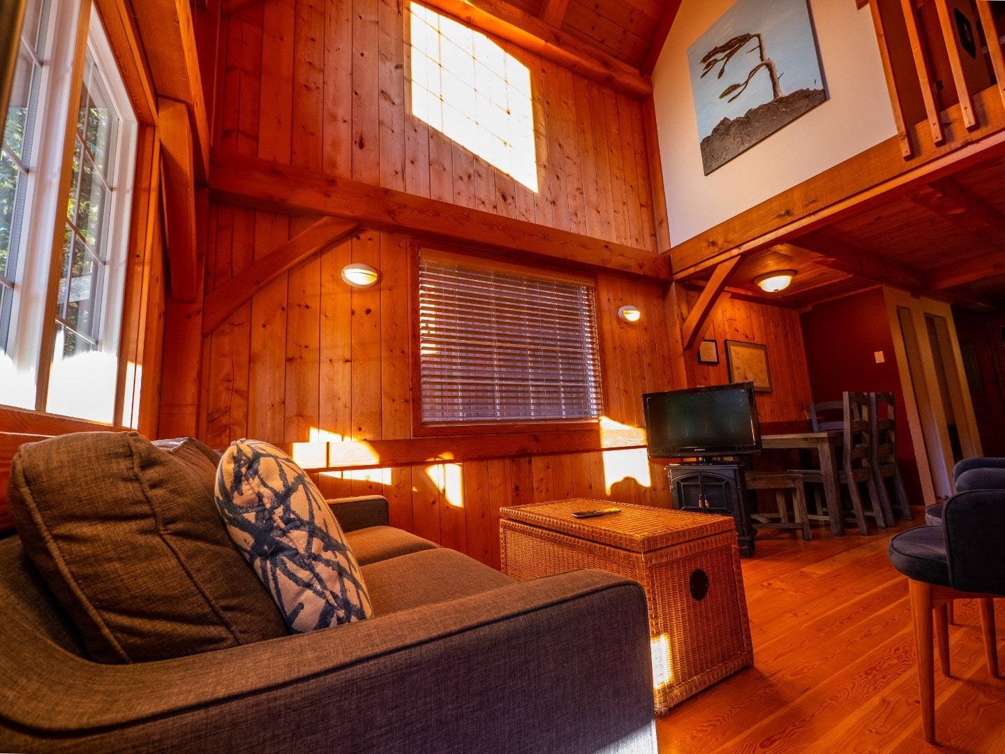 Portside - Inside Rainforest Ucluelet Accommodation