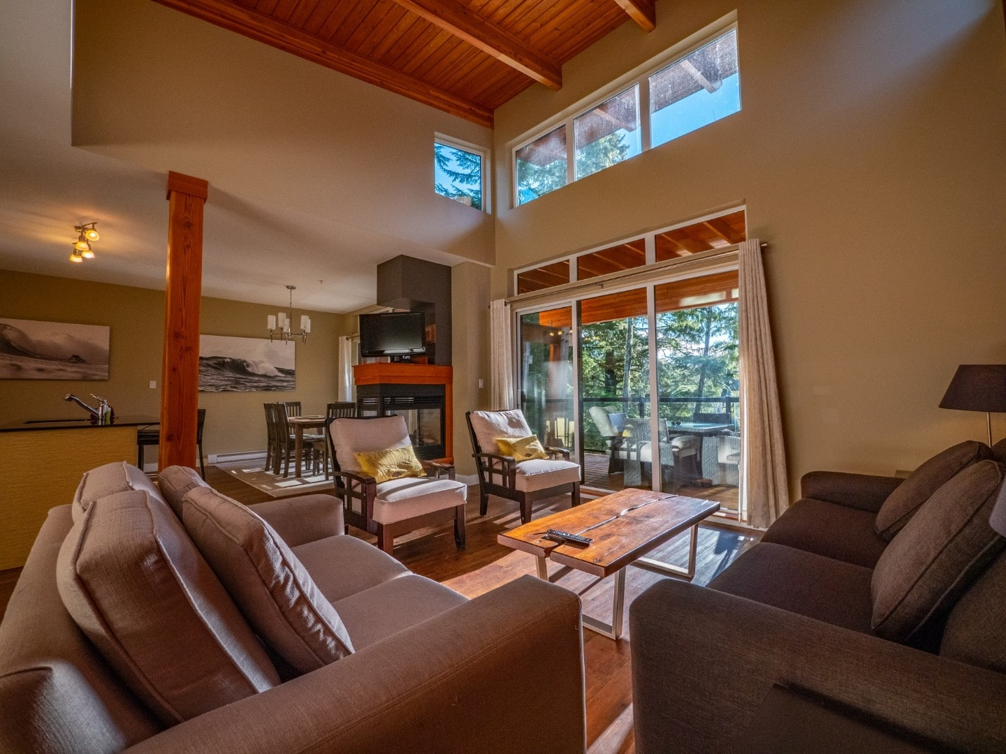 Inside Sabbatical 2 Bedroom - Spring Cove Ucluelet Accommodation